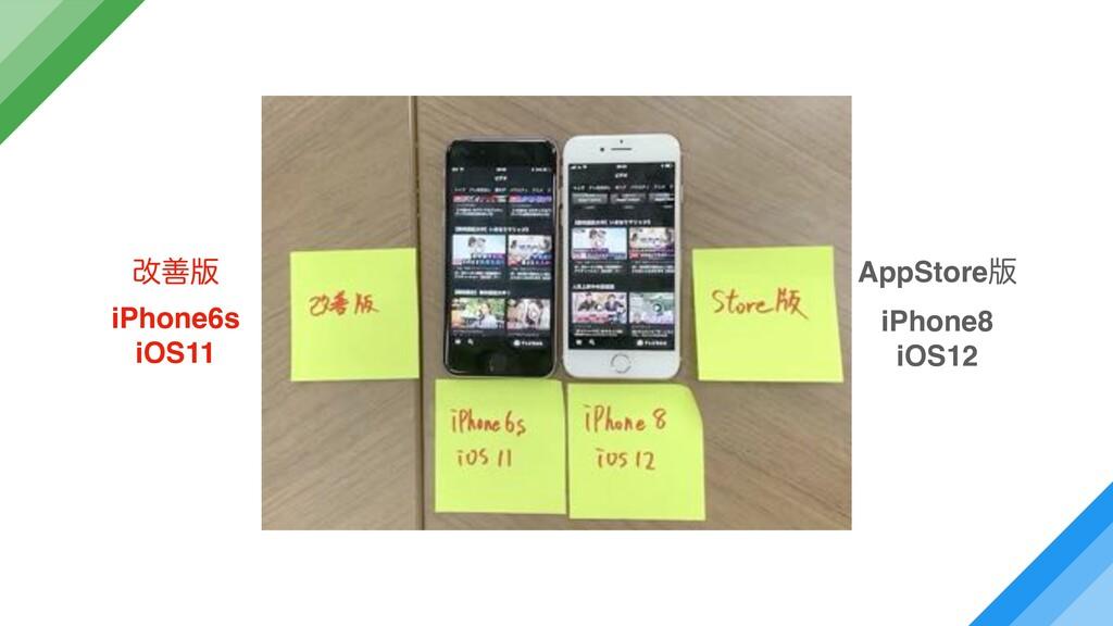 վળ൛ iPhone6s iOS11 AppStore൛ iPhone8 iOS12