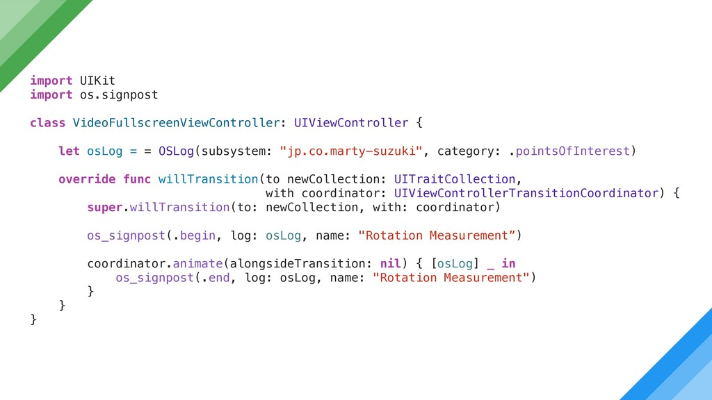 import UIKit import os.signpost class VideoFull...