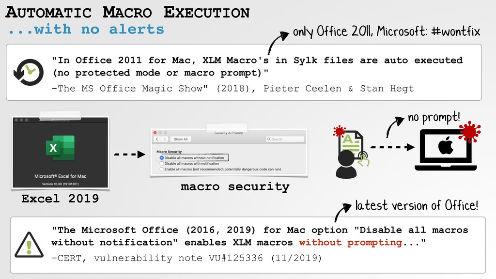 AUTOMATIC MACRO EXECUTION ...with no alerts Exc...