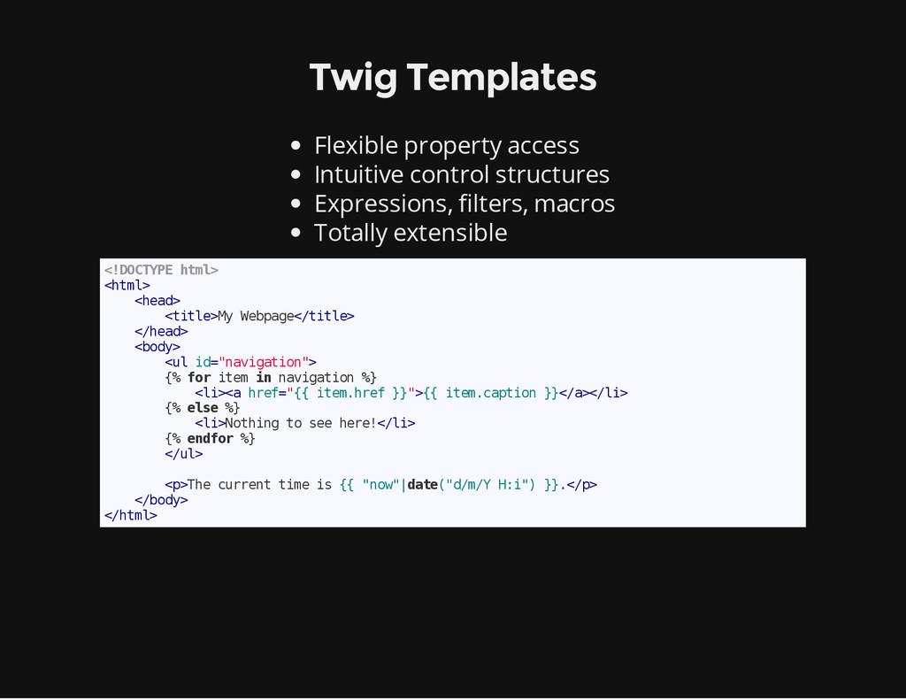Twig Templates Flexible property access Intuiti...