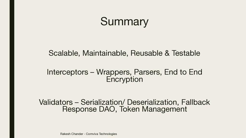 Rakesh Chander - Comviva Technologies Summary S...
