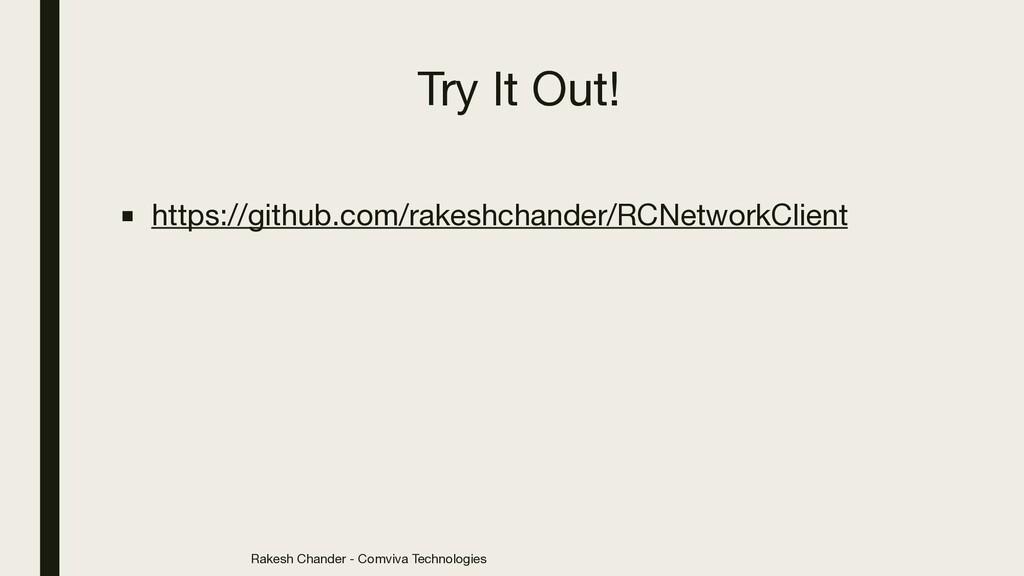 Rakesh Chander - Comviva Technologies Try It Ou...