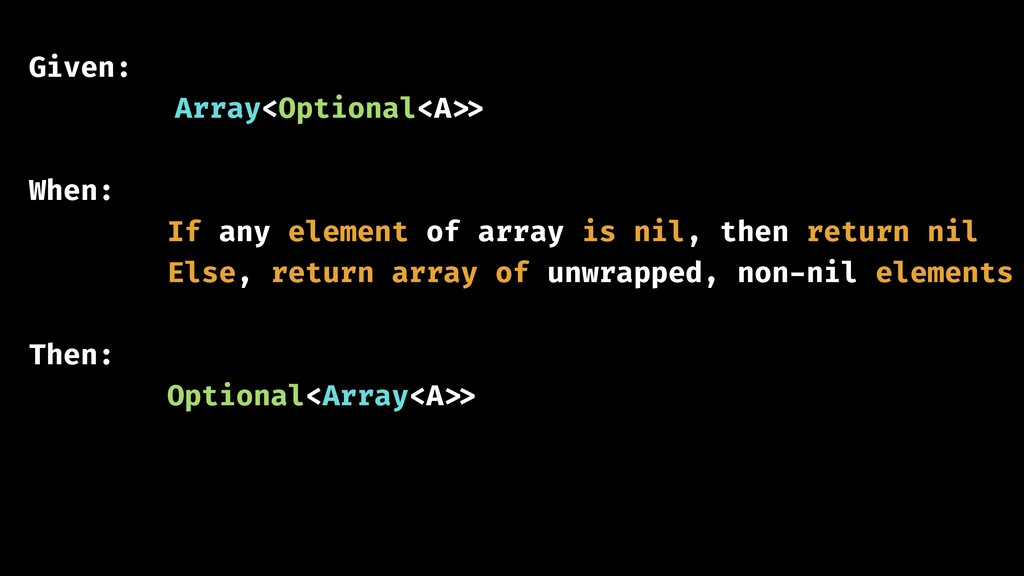 Given: 