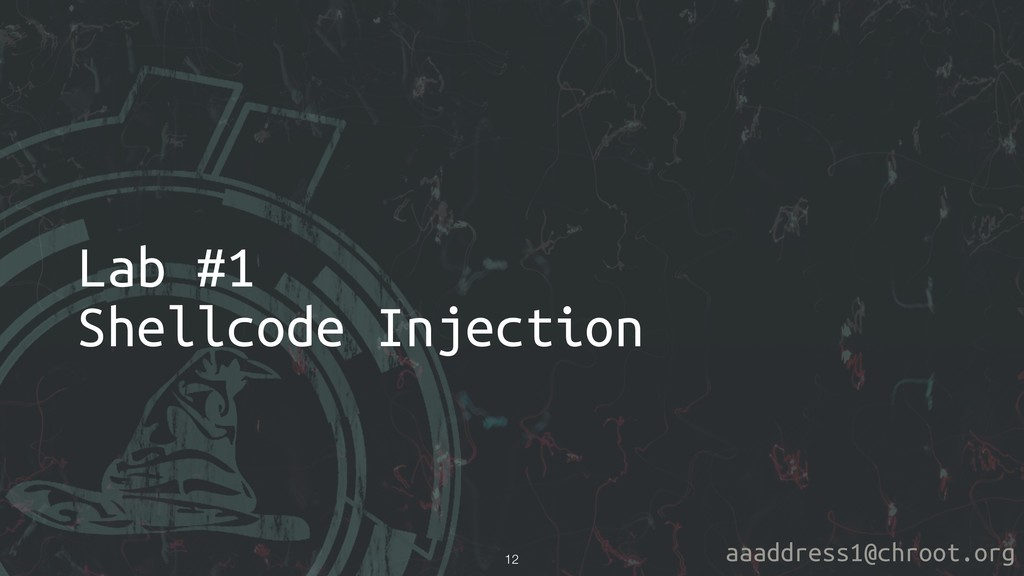 aaaddress1@chroot.org Lab #1 Shellcode Injectio...