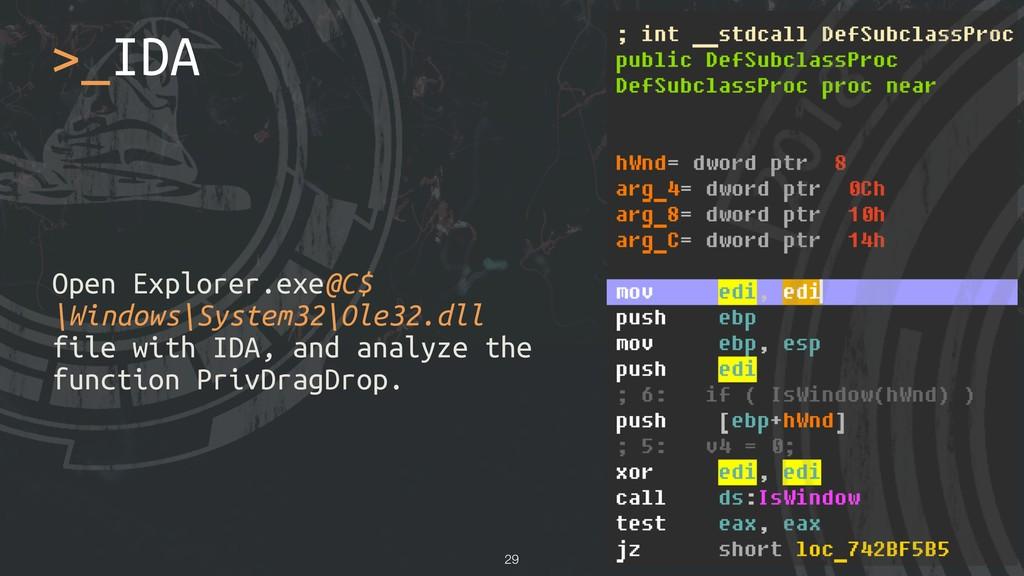Open Explorer.exe@C$ \Windows\System32\Ole32.dl...