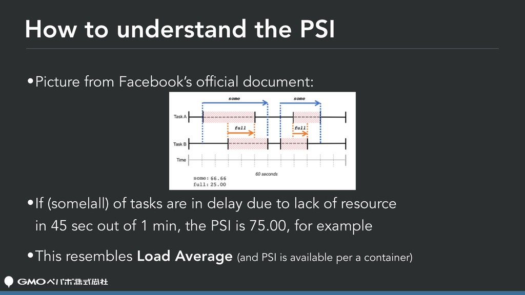 How to understand the PSI •Picture from Faceboo...