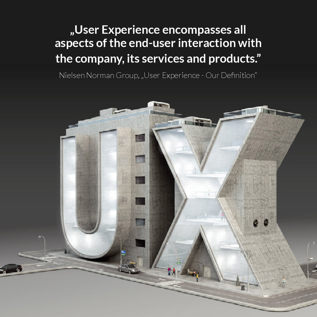 """User Experience encompasses all aspects of the..."