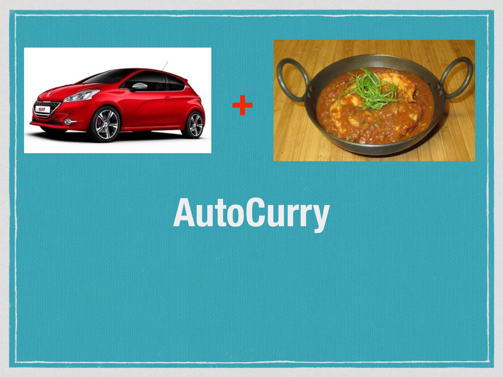 AutoCurry +
