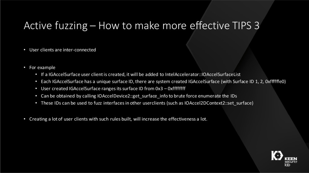 Active fuzzing – How to make more effective TIP...