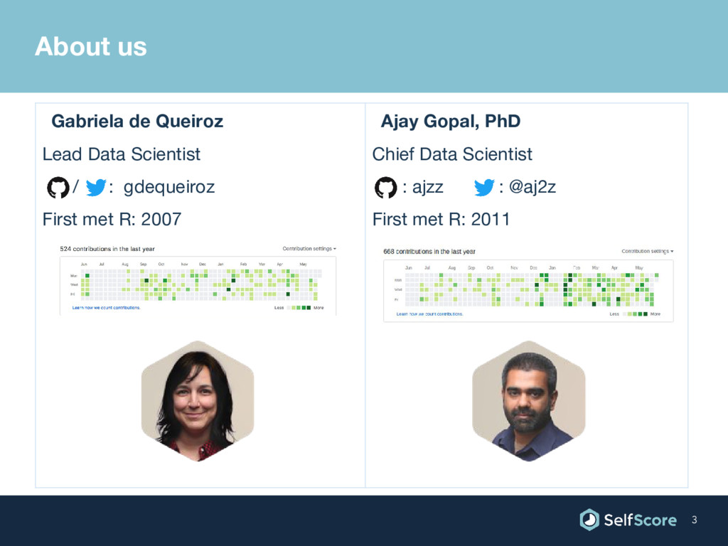 Gabriela de Queiroz Lead Data Scientist / : gde...