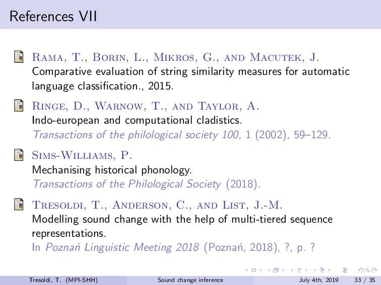 References VII Rama, T., Borin, L., Mikros, G.,...