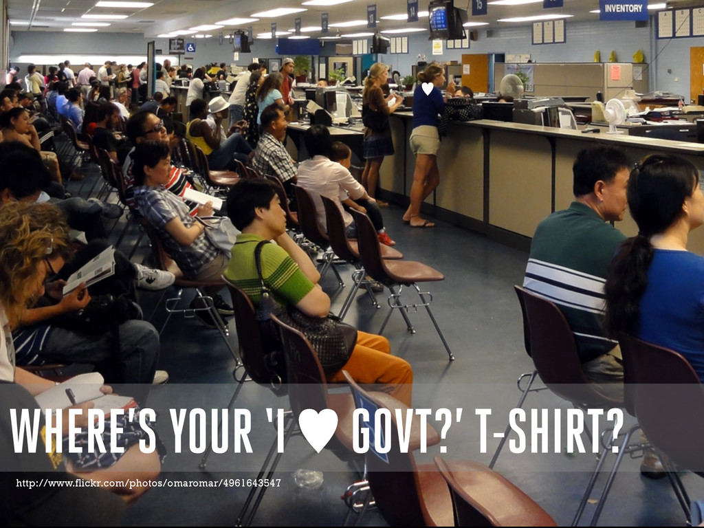 WHERE'S YOUR 'I — GOVT?' T-SHIRT? http://www.fl...