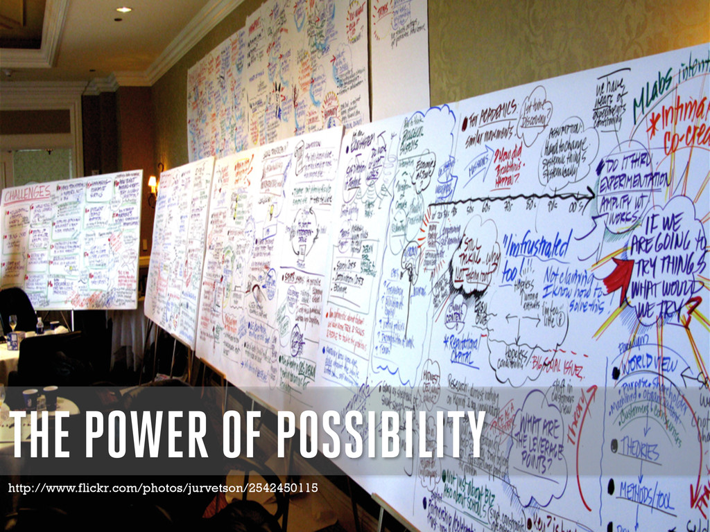 THE POWER OF POSSIBILITY http://www.flickr.com/...