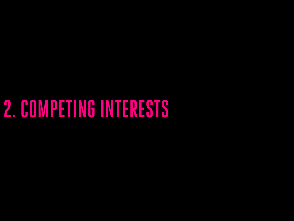 2. COMPETING INTERESTS