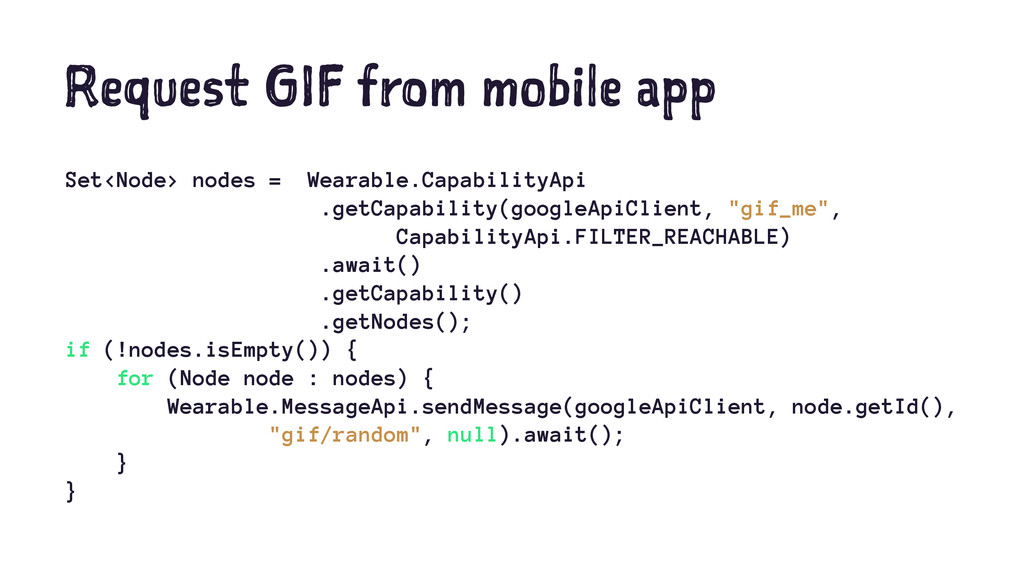 Request GIF from mobile app Set<Node> nodes = W...