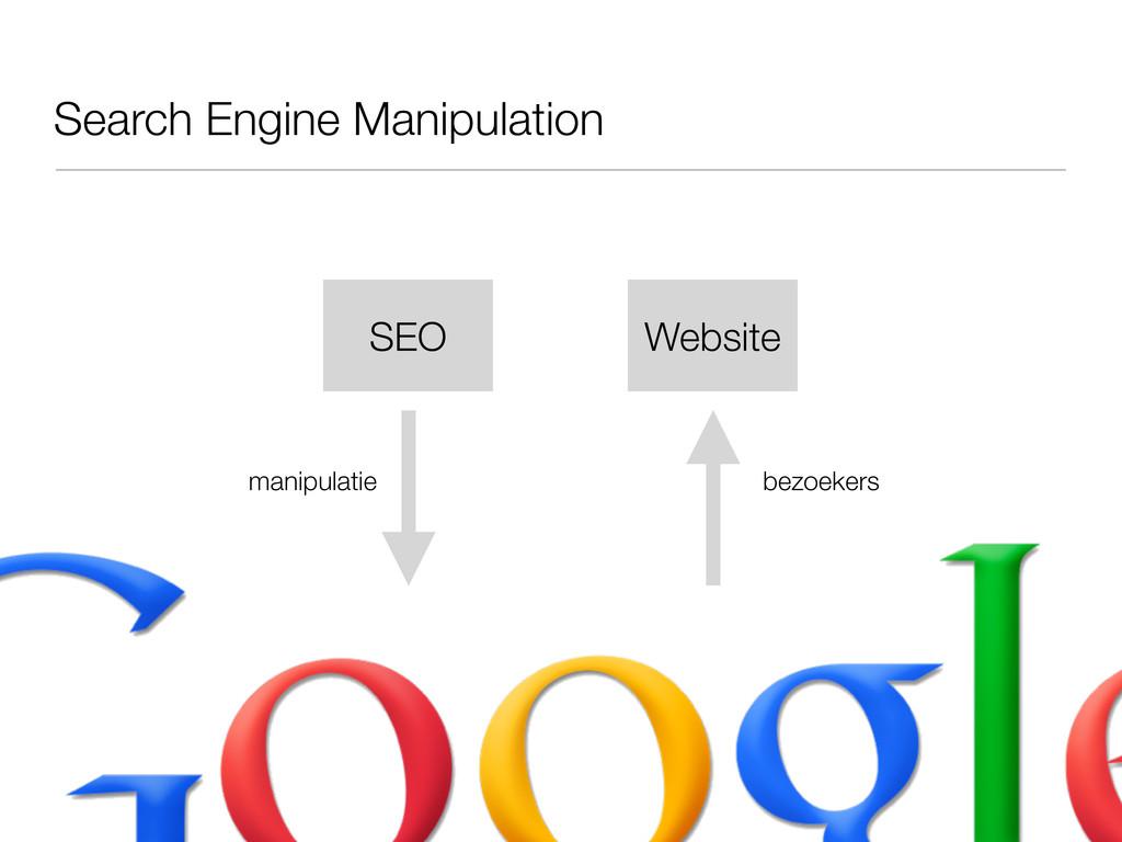 Search Engine Manipulation manipulatie Website ...