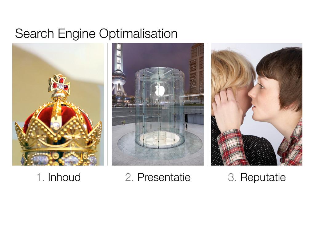 Search Engine Optimalisation 1. Inhoud 2. Prese...