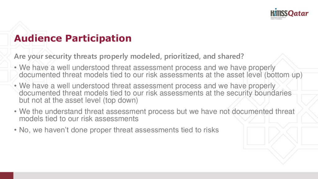 Are your security threats properly modeled, pri...