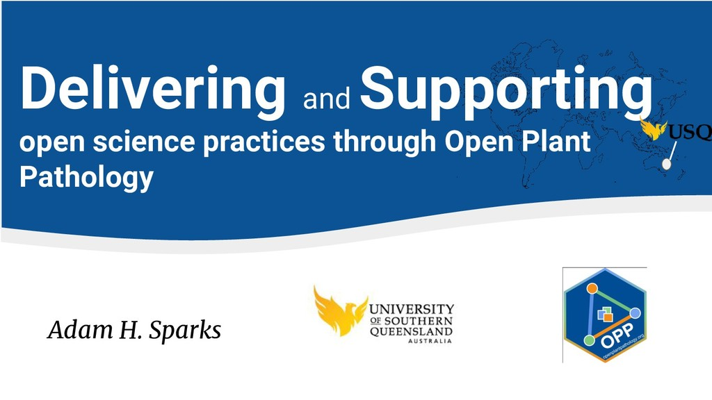 Adam H. Sparks Delivering and Supporting open s...