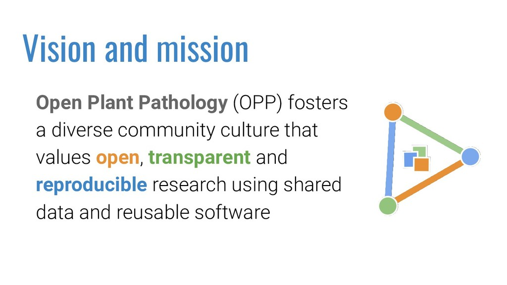Open Plant Pathology (OPP) fosters a diverse co...