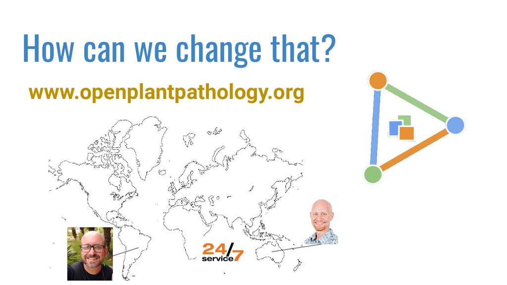 www.openplantpathology.org How can we change th...
