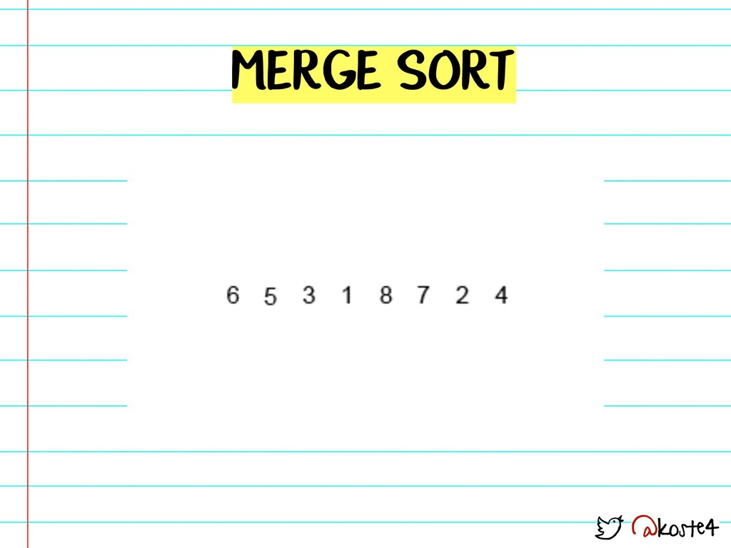 @koste4 MERGE SORT
