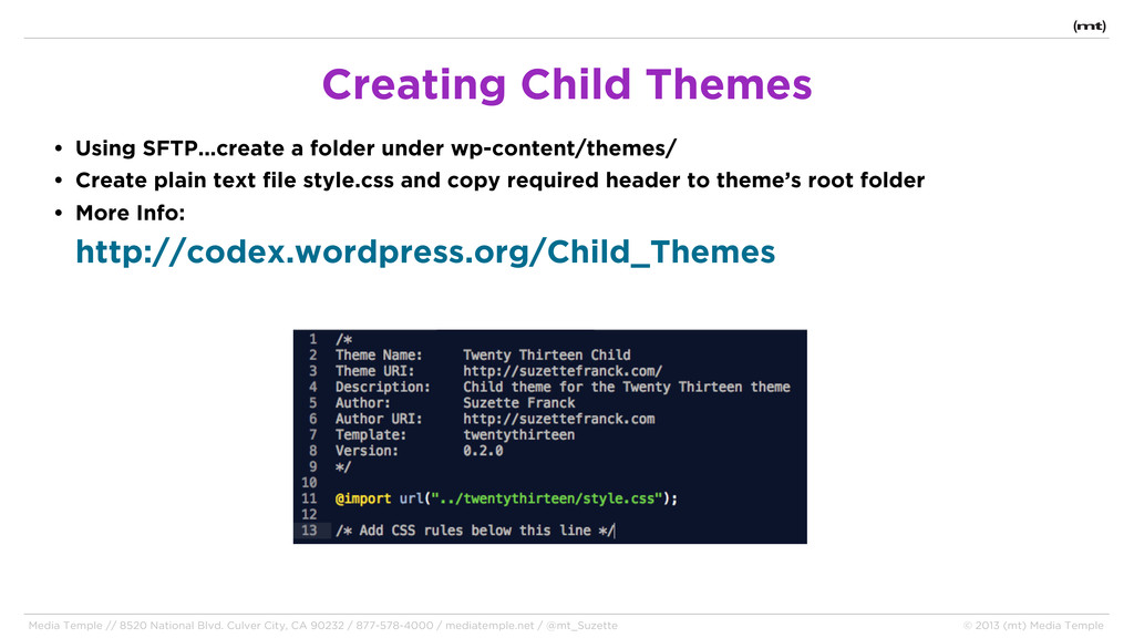 • Using SFTP...create a folder under wp-content...