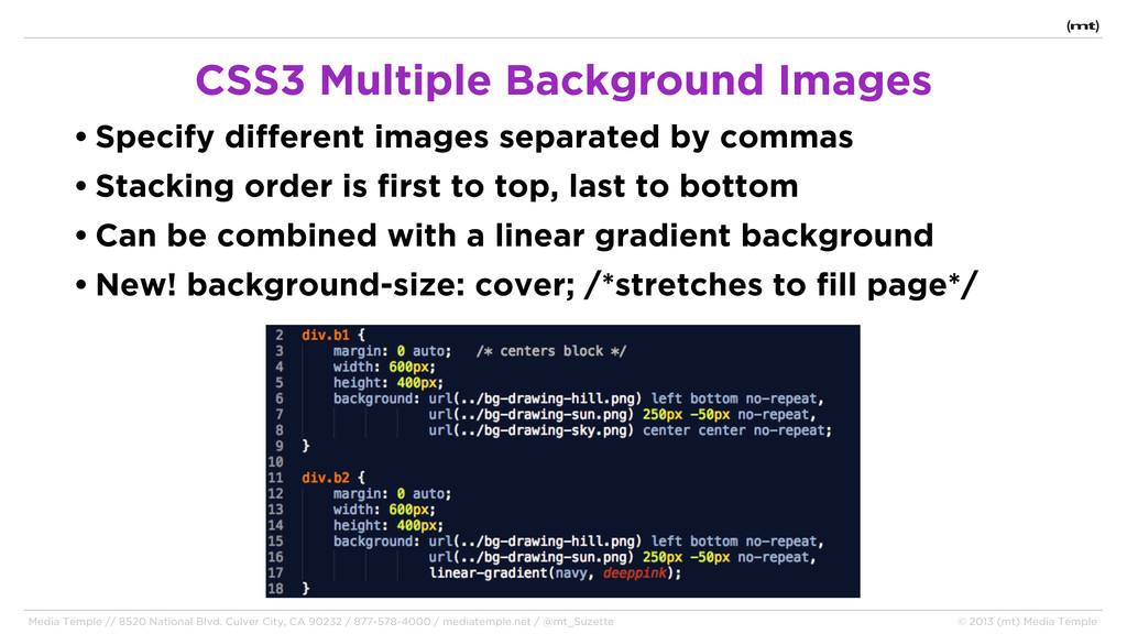 • Specify different images separated by commas ...