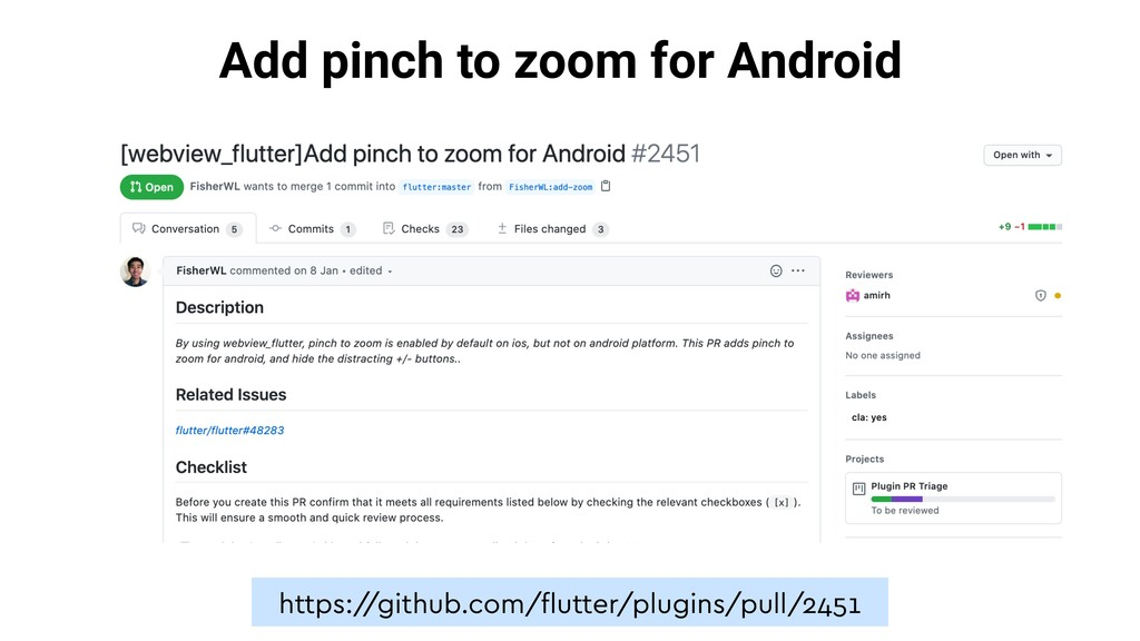 Add pinch to zoom for Android https:/ /github.c...