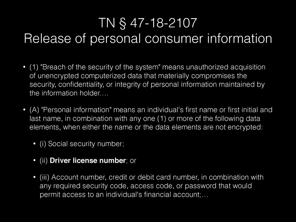 TN § 47-18-2107 