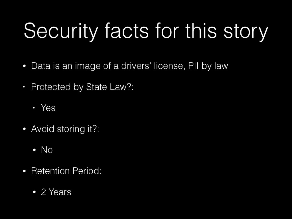 Security facts for this story • Data is an imag...