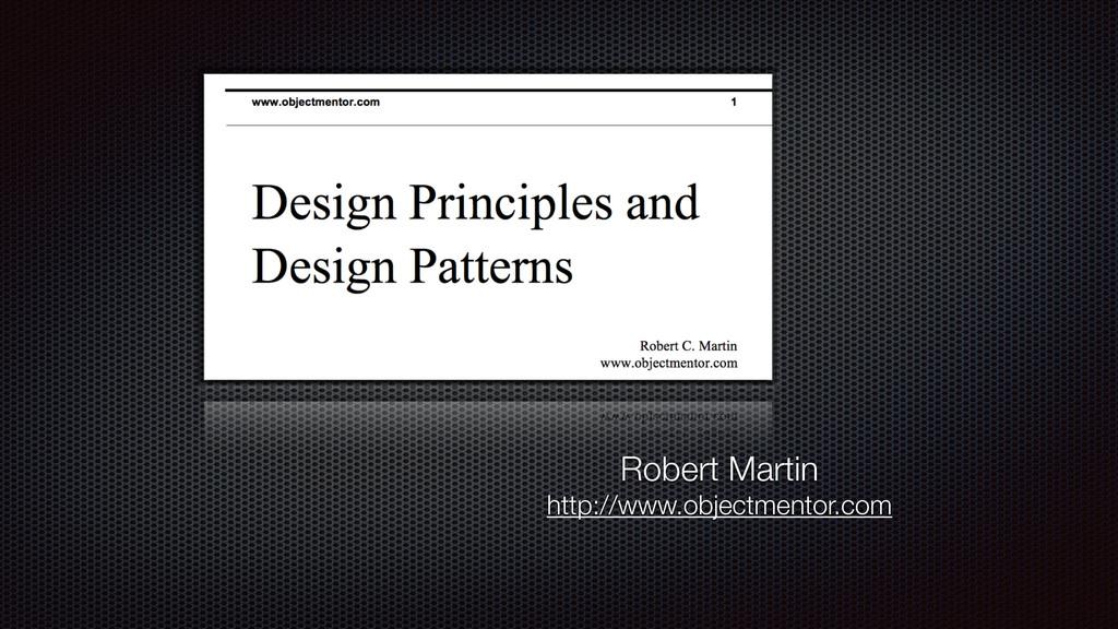 Robert Martin http://www.objectmentor.com