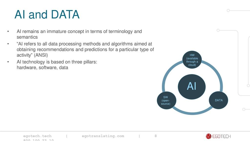 egotech.tech   egotranslating.com   8 AI and DA...