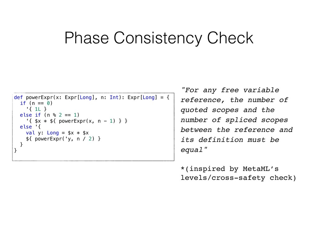 """Phase Consistency Check """"For any free variable ..."""