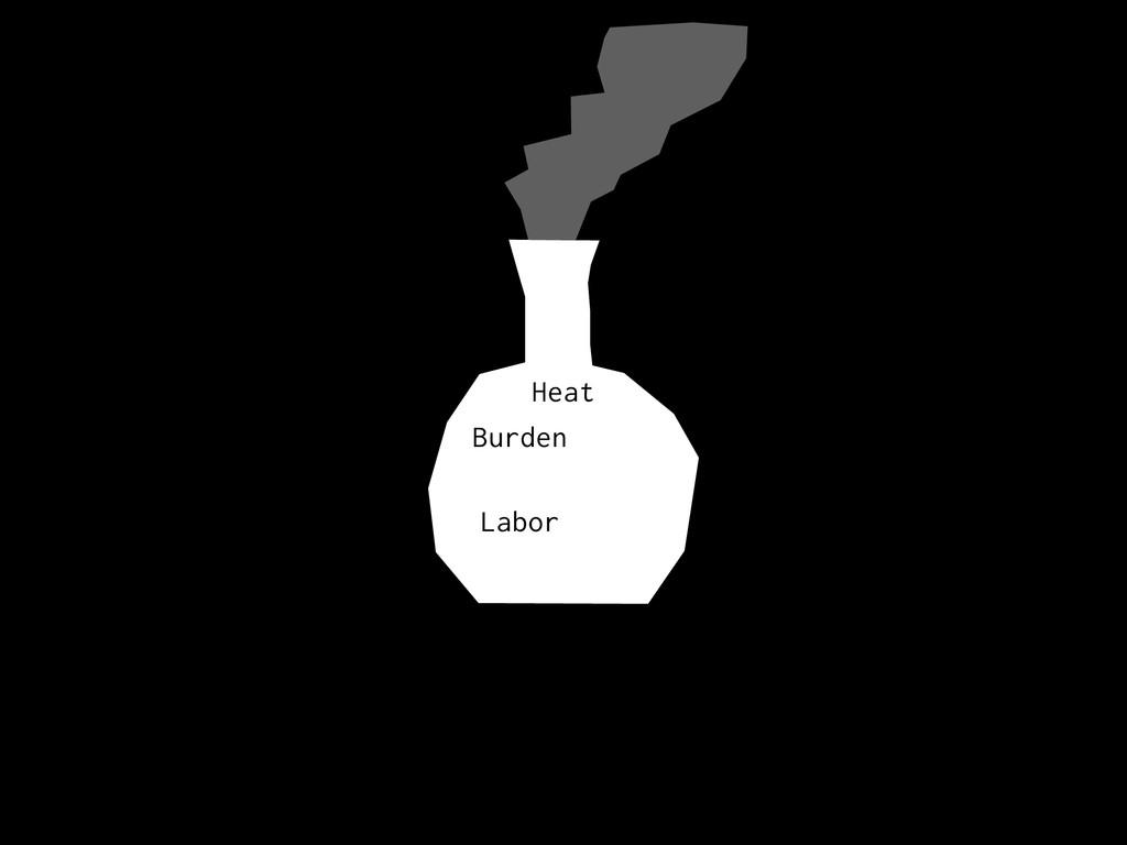 Burden Heat Labor