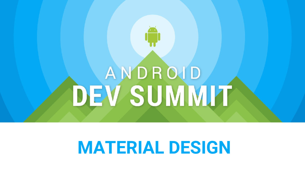 SECTION TITLE MATERIAL DESIGN