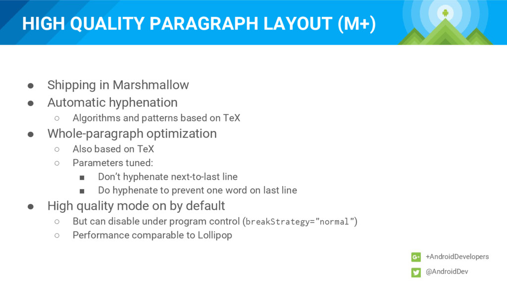 HIGH QUALITY PARAGRAPH LAYOUT (M+) +AndroidDeve...