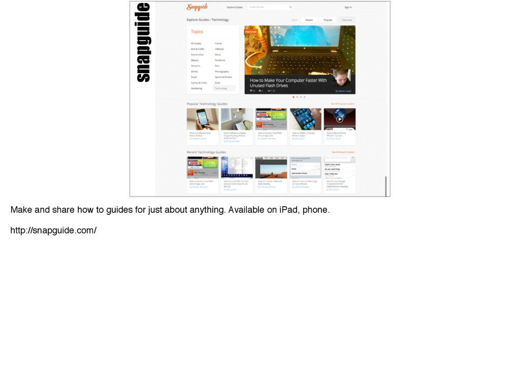 snapguide Make and share how to guides for just...