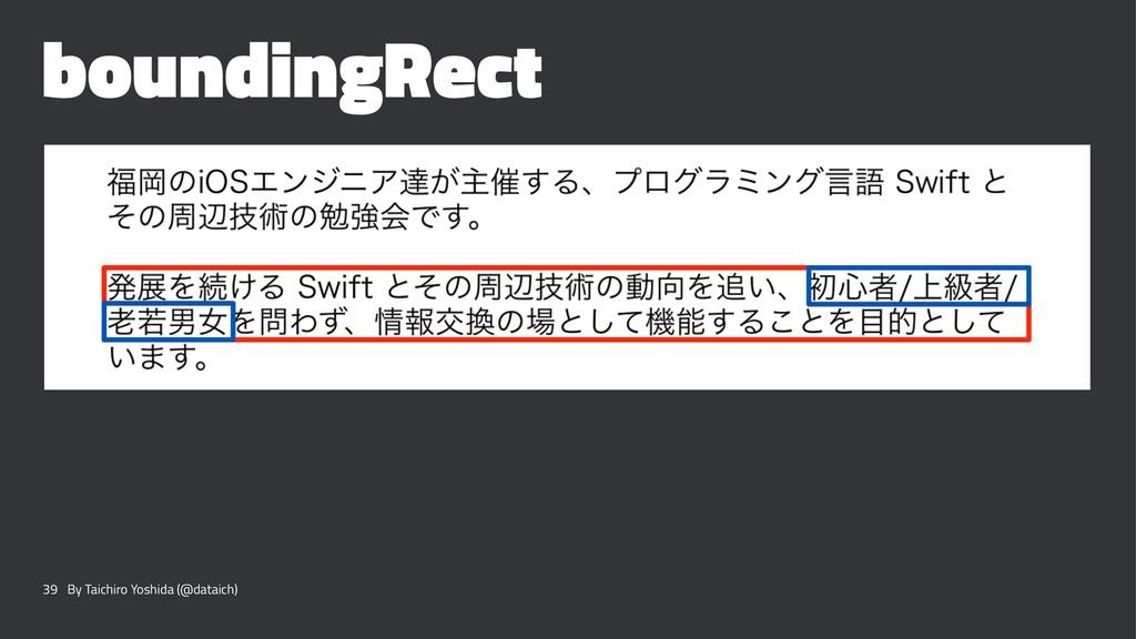 boundingRect 39 By Taichiro Yoshida (@dataich)