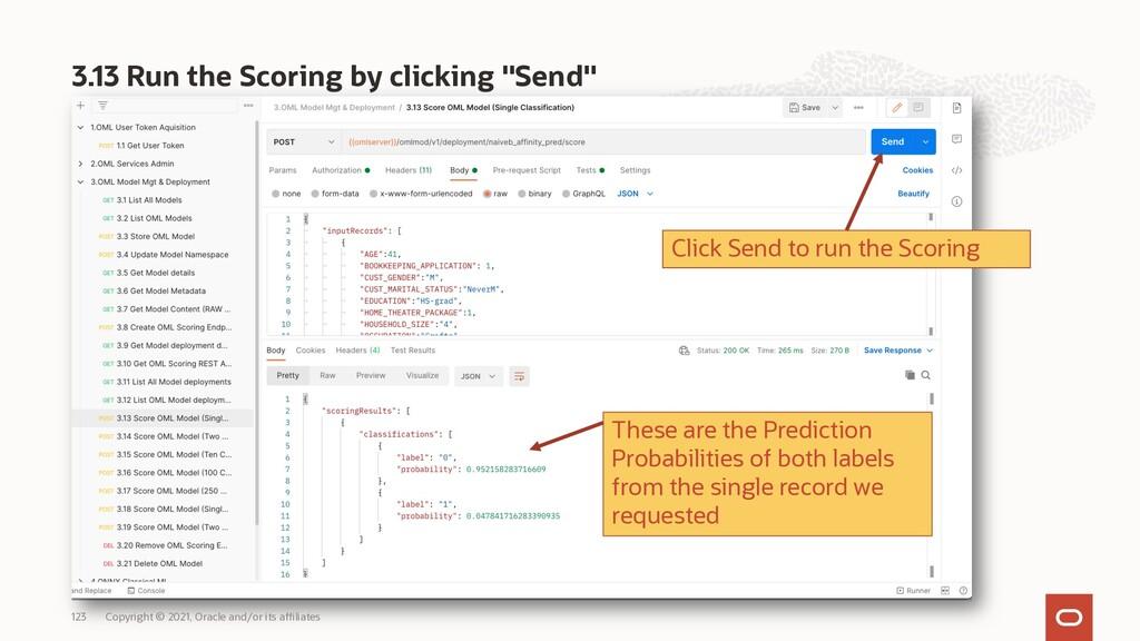"3.13 Run the Scoring by clicking ""Send"" Copyrig..."
