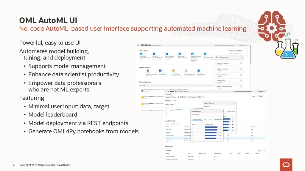 No-code AutoML-based user interface supporting ...