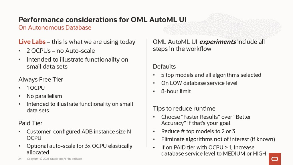 On Autonomous Database Live Labs – this is what...