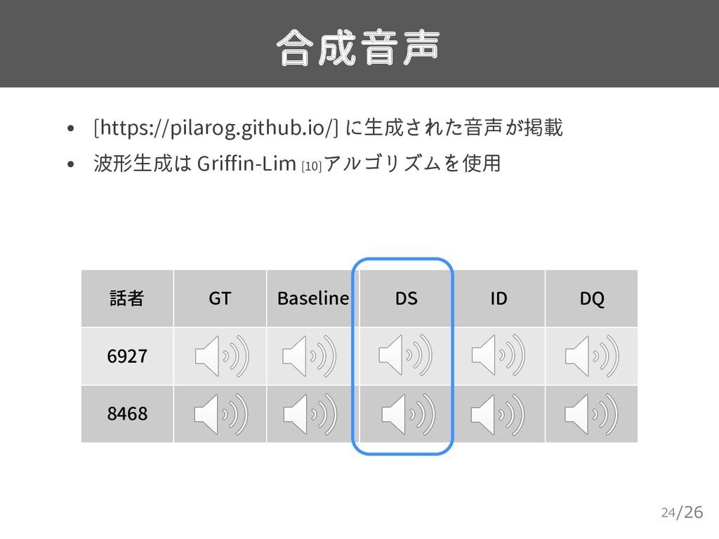 /26 合成音声 24 • [https://pilarog.github.io/] に生成さ...