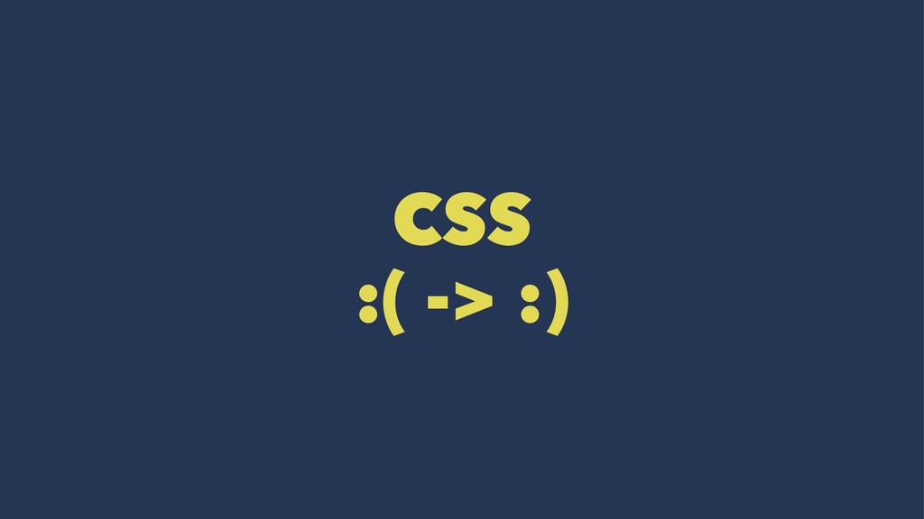 CSS :( -> :)