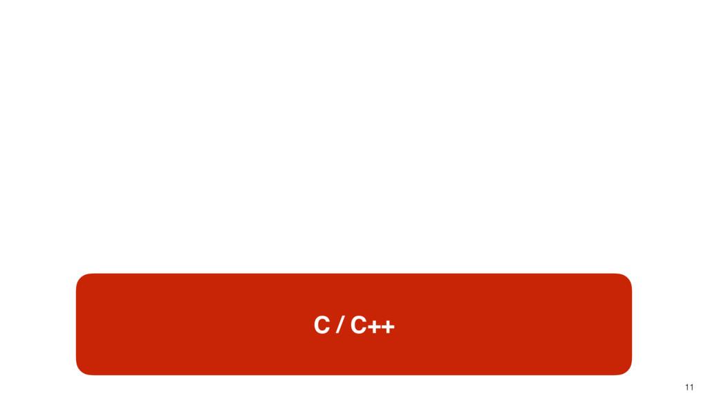 11 C / C++