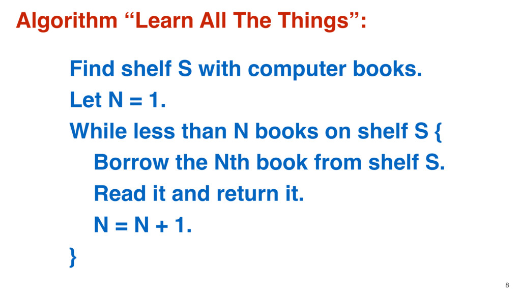 """8 Algorithm """"Learn All The Things"""": Find shelf ..."""