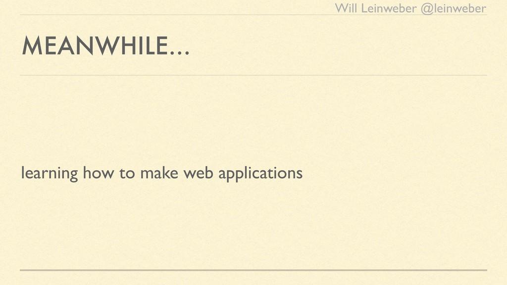 Will Leinweber @leinweber MEANWHILE… learning h...