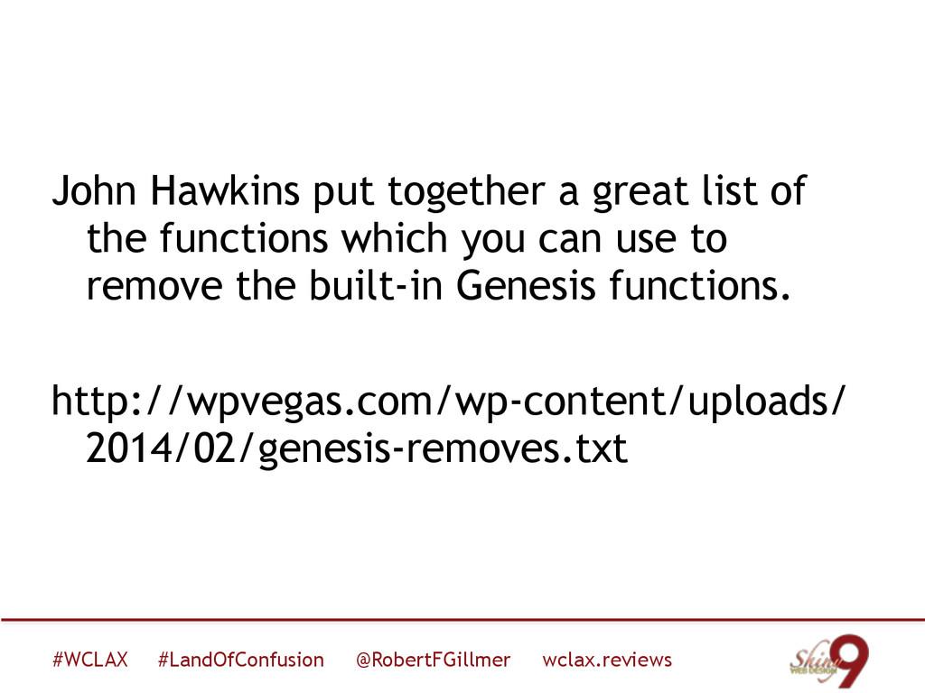 #WCLAX #LandOfConfusion @RobertFGillmer wclax.r...