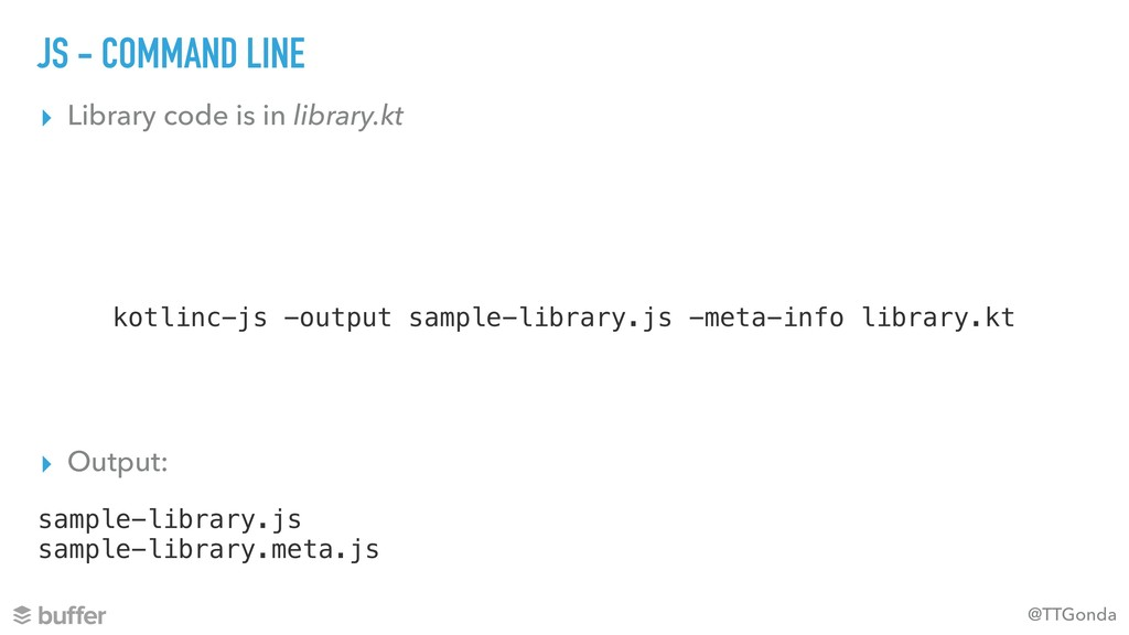 @TTGonda JS - COMMAND LINE ▸ Library code is in...