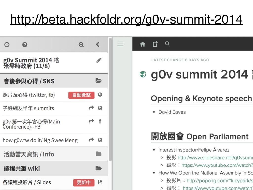 http://beta.hackfoldr.org/g0v-summit-2014